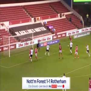 Nottingham Forest [1]-1 Rotherham - Sammy Ameobi 80'