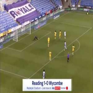 Reading 1-0 Wycombe - Lucas Joao 64'