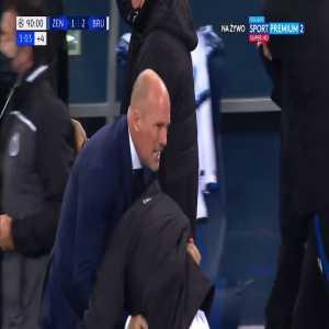 Zenit 1-[2] Club Brugge - Charles De Ketelaere 90+3'