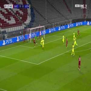 Bayern Munich [1] - 0 Atlético Madrid - Kingsley Coman 28'