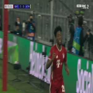 Bayern Munich [4] - 0 Atlético Madrid - Kingsley Coman 72'
