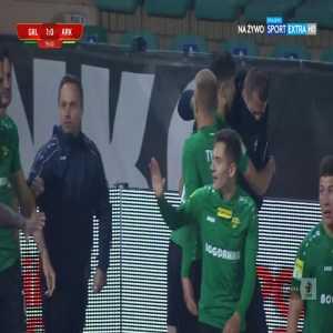 Górnik Łęczna 1-0 Arka Gdynia - Bartłomiej Kalinkowski 80' (Polish I liga)