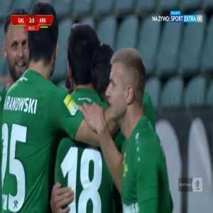 Górnik Łęczna 2-0 Arka Gdynia - Przemysław Banaszak 89' (Polish I liga)