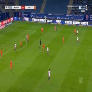 Hamburger SV 1-0 Erzgebirge Aue - Manuel Wintzheimer 17'