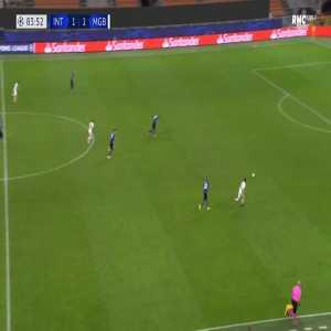 Inter 1-[2] Monchengladbach - Jonas Hofmann 84'