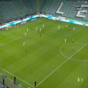 Legia Warszawa 2-0 Śląsk Wrocław - Tomáš Pekhart 73' (Polish Ekstraklasa)