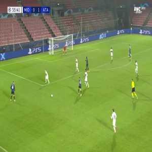 Midtjylland 0-2 Atalanta - Alejandro Gomez 36'