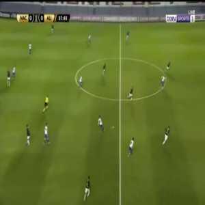 Nacional 1-0 Alianza Lima - Gonzalo Bergessio 8'