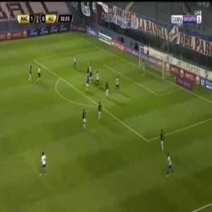 Nacional 2-0 Alianza Lima - Alfonso Trezza Hernandez 31'