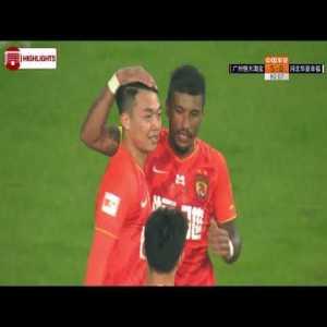 Paulinho Goal 81' - Guangzhou Evergrande [5] - 0 Hebei CFFC (AGG 8 - 1)