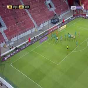 River Plate 1-0 LDU Quito - Rafael Borre 53'