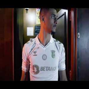 SC Braga (POR) great video introducing their third kit... Terminator style!