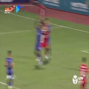 Viettel (1)-0 Binh Duong - Bruno penalty goal +call