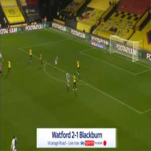 Watford 2-[1] Blackburn - Ben Brereton 28'