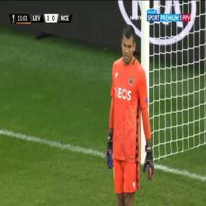 Bayer Leverkusen 1-0 Nice - Nadiem Amiri 11'