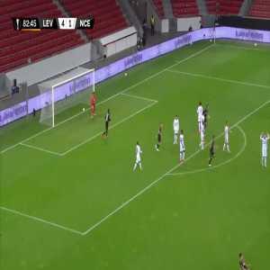 Bayer Leverkusen [5]-1 Nice - Karim Bellarabi 83'