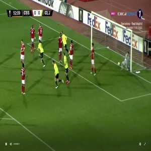 CSKA Sofia 0-[1] CFR Cluj- Rondon 53'