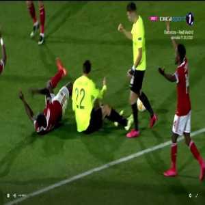 CSKA Sofia 0-[2] CFR Cluj- Deac 74' penalty + call