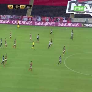 Flamengo 2-0 Junior - Lincoln Correa dos Santos 40'
