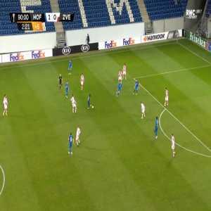 Hoffenheim 2-0 Crvena Zvezda - Munas Dabbur 90'+3'