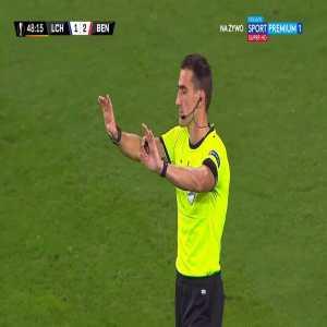 Lech Poznań [2]-2 Benfica - Mikael Ishak 48'