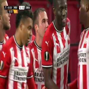 PSV Eindhoven 1-0 Granada - Mario Götze 45'