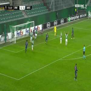Rapid Vienna 1 - [2] Arsenal - Aubameyang 74'