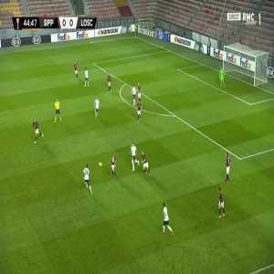 Sparta Praha 0-1 Lille - Yusuf Yazici 45'