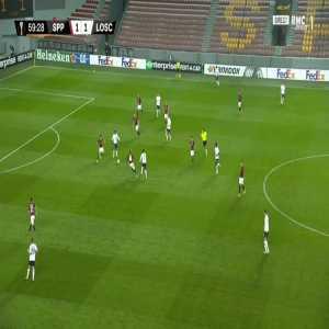 Sparta Praha 1-[2] Lille - Yusuf Yazici 60'