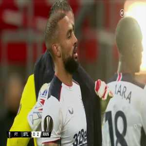 Standard Liege 0-2 Rangers: Post Match Incident
