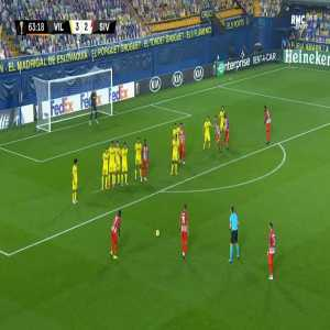 Villarreal 3-[3] Sivasspor - Max-Alain Gradel free-kick 64'