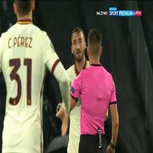 Young Boys 1-0 Roma - Jean-Pierre Nsame PK 14'