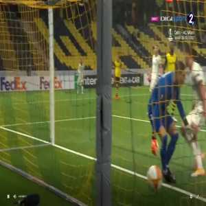 Young Boys 1-[2] Roma - Kumbulla 74'