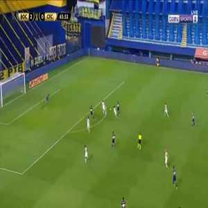 Boca Juniors 3-0 Caracas - Carlos Tevez 44'