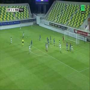 Cyprus W 0-[1] Portugal W - Cláudia Neto 19' (great goal)