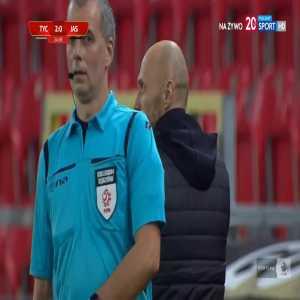 GKS Tychy 2-0 GKS Jastrzębie - Oskar Paprzycki 24' (Polish I liga)
