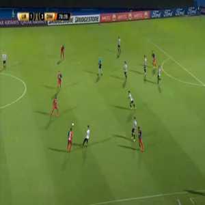 Libertad 1-[4] Independiente Medellín - Carlos Monges 71'