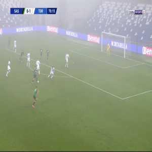 Sassuolo [1]-1 Torino - Filip Djuricic 71'