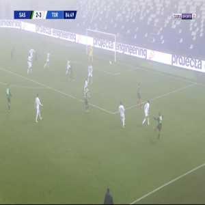 Sassuolo [3]-3 Torino - Francesco Caputo 85'