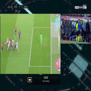 Barcelona 1 - [2] Real Madrid - Sergio Ramos penalty 63'