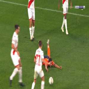 Basaksehir 1-0 Antalyaspor - Edin Visca penalty 11'