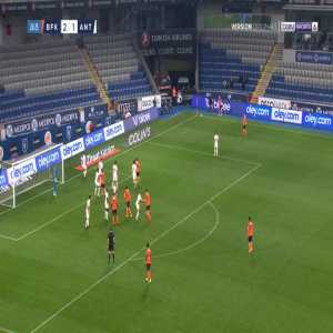 Basaksehir [3]-1 Antalyaspor - Irfan Kahveci 27'