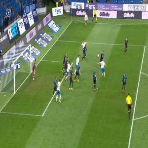 Dynamo Moscow 1-[1] Sochi - Miha Mevlja 22'