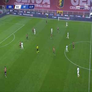 Genoa 0-1 Inter - Romelu Lukaku 64'