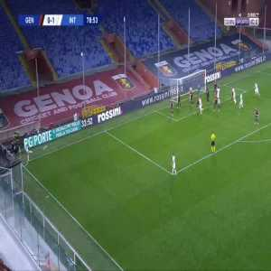 Genoa 0-2 Inter - Danilo D'Ambrosio 80'