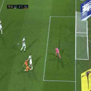 Gonzalo Verdú goal line clearance vs. Valencia