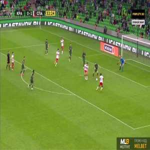 Krasnodar 0-2 Spartak Moscow - Victor Moses 33'