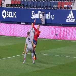 Osasuna 1-0 Athletic Bilbao - Ruben Garcia penalty 81'