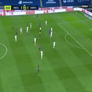 PSG 1-0 Dijon - Moise Kean 3'