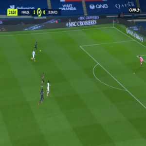PSG 2-0 Dijon - Moise Kean 23'